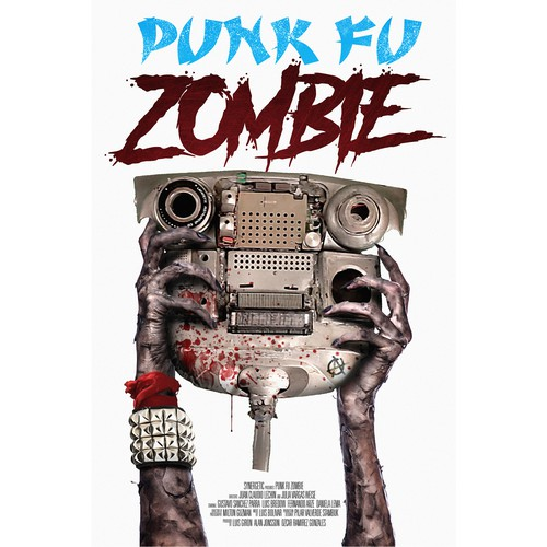 Movie poster for Punk Fu Zombie