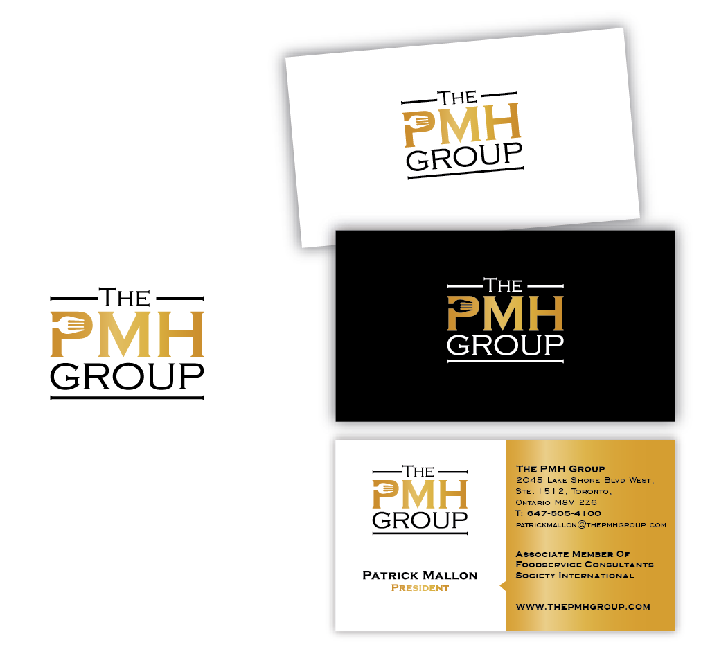 Help The PMH Group with business card and logo