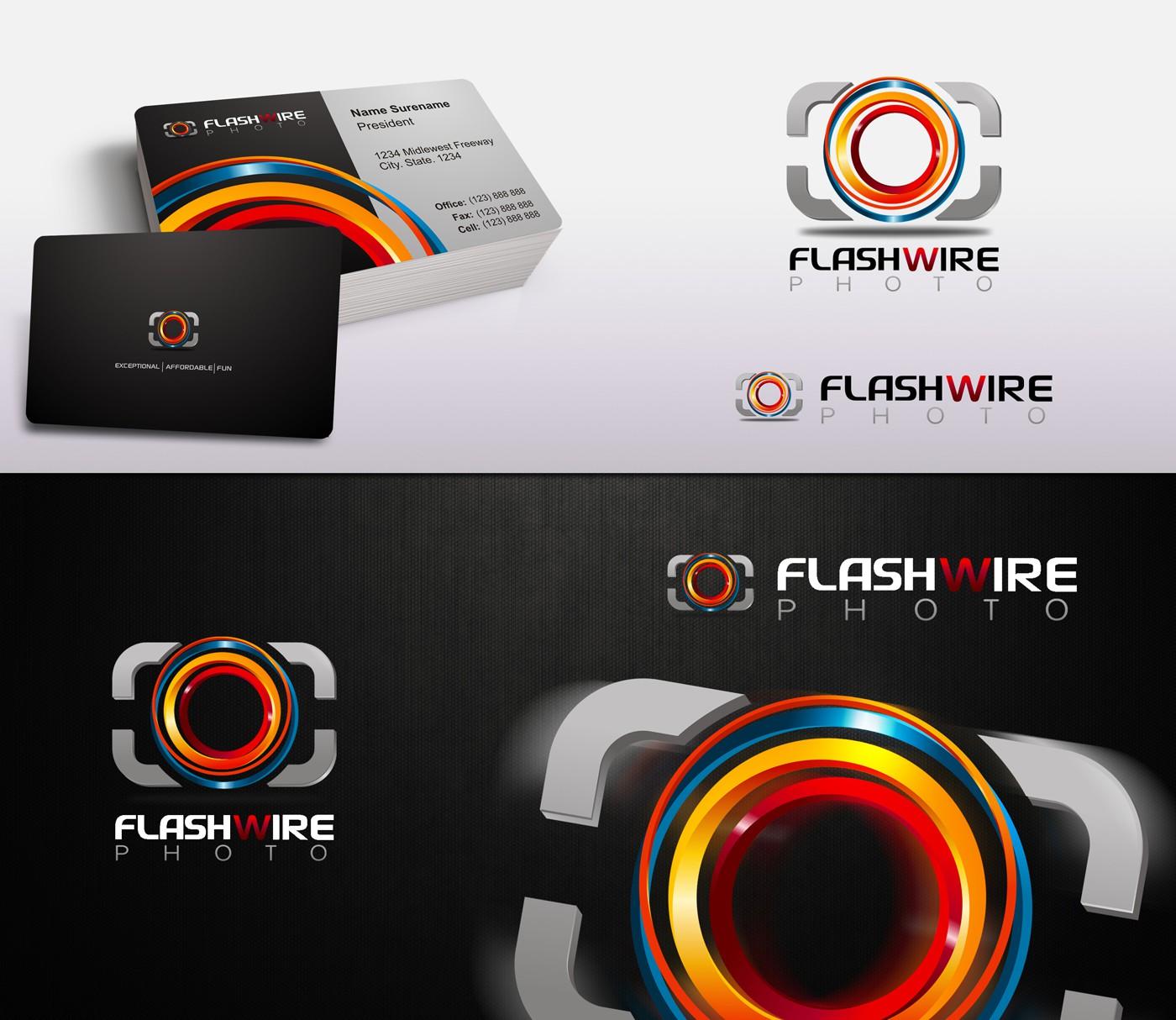 FAMOUS BUSINESS LOGO: Flashwire Photo