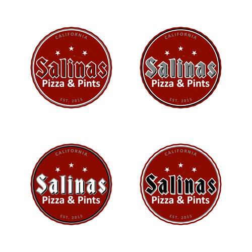 Logokonzept für Restaurant in Salinas Californien