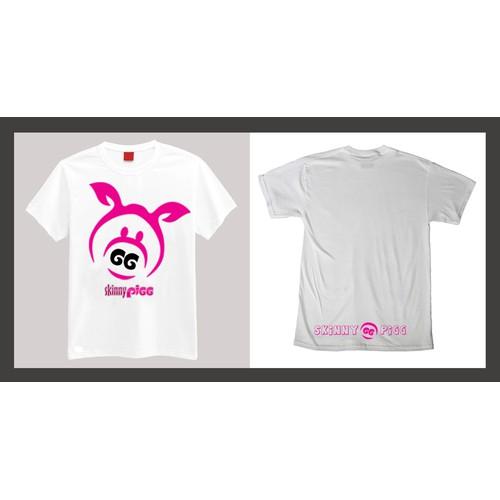 Skinny Pigg T-Shirt Graphic.. Quick Design / Easy Money