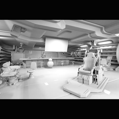 Interior Sci-fi concept