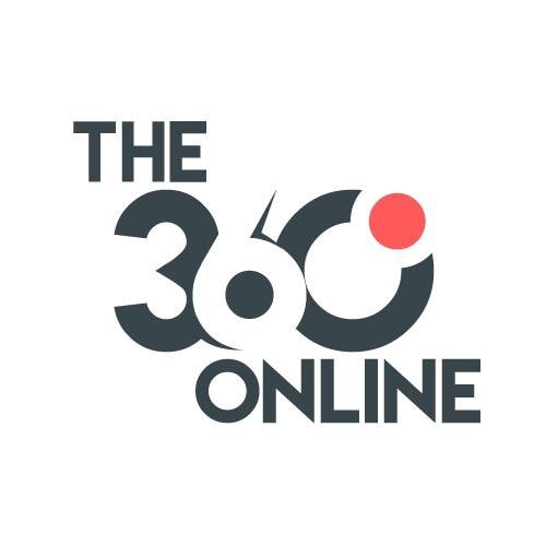 The 360 online logo