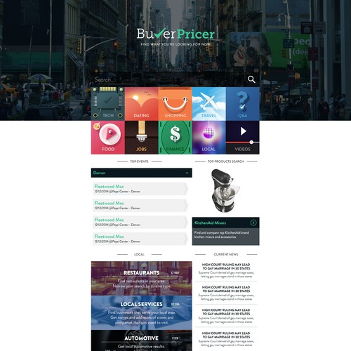 10 Million+ monthly visitors will see the winning design at buyerpricer.com