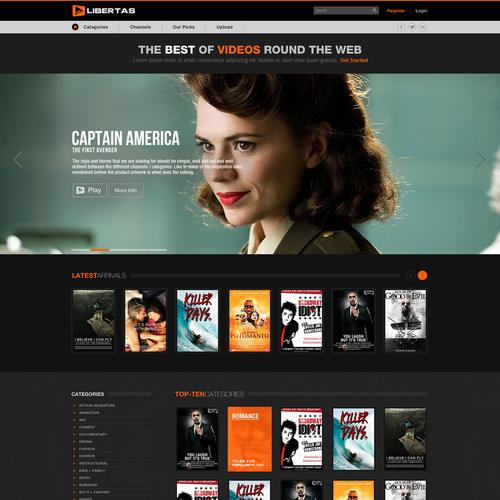 website design for Libertas