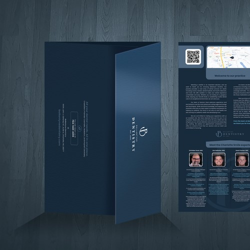 Ballantyne Dentistry Custom Brochure Design
