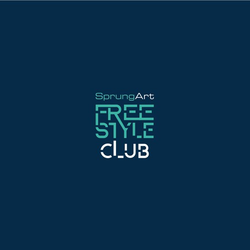 Freestyle Club - Logo for SprungArt.