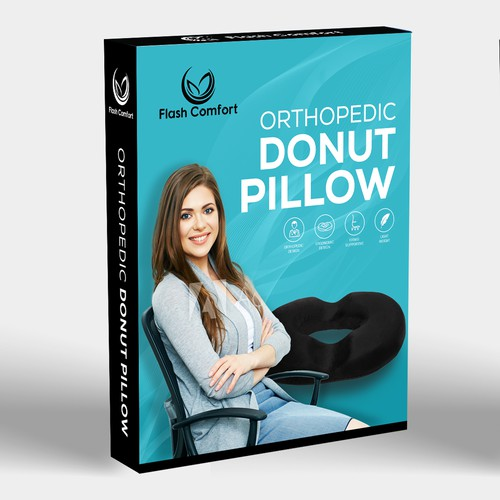 Donut Pillow Packaging Design