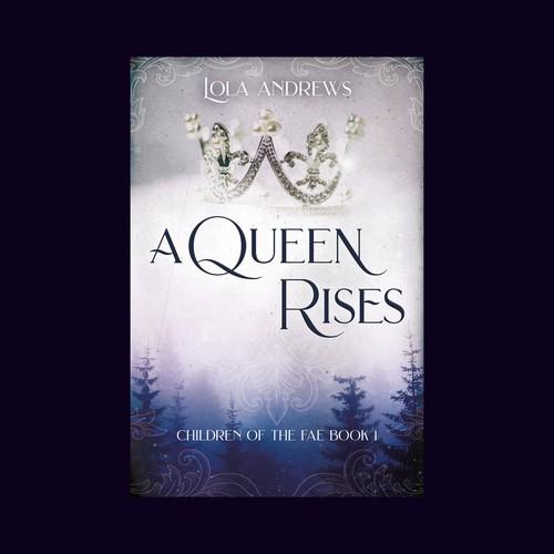 Book cover for a fantasy magic romance
