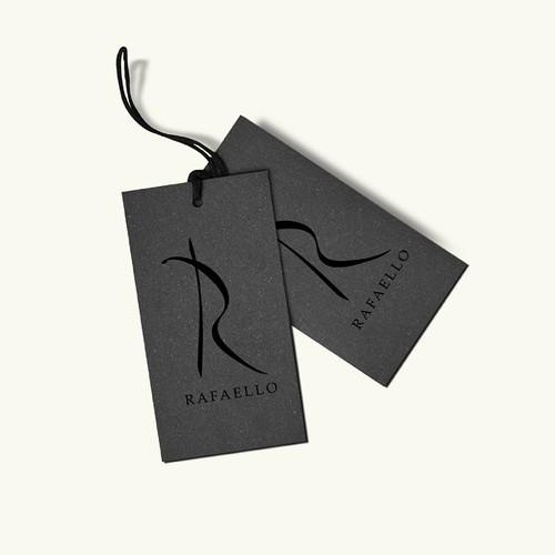 Feminine fashion brand logo concept