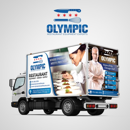 Olympic Restaurant Equipment Experts Wraps
