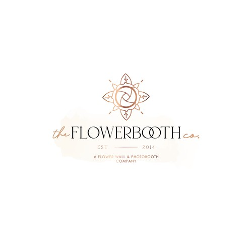 A Flower wall & Photo Booth Company