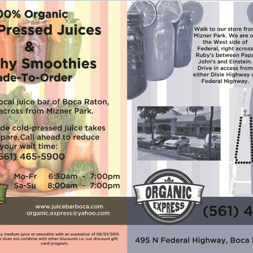 Organic Juice Bar Needs Some Love :-)