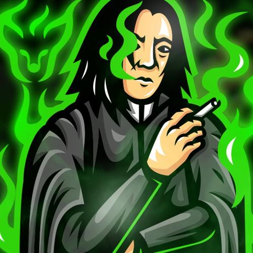 Mr. Snape Mascot Logo