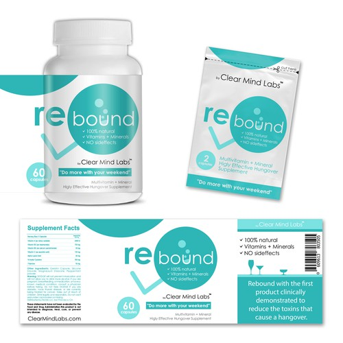 Rebound for Hangovers - First Clinically Proven Anti-Hangover Product