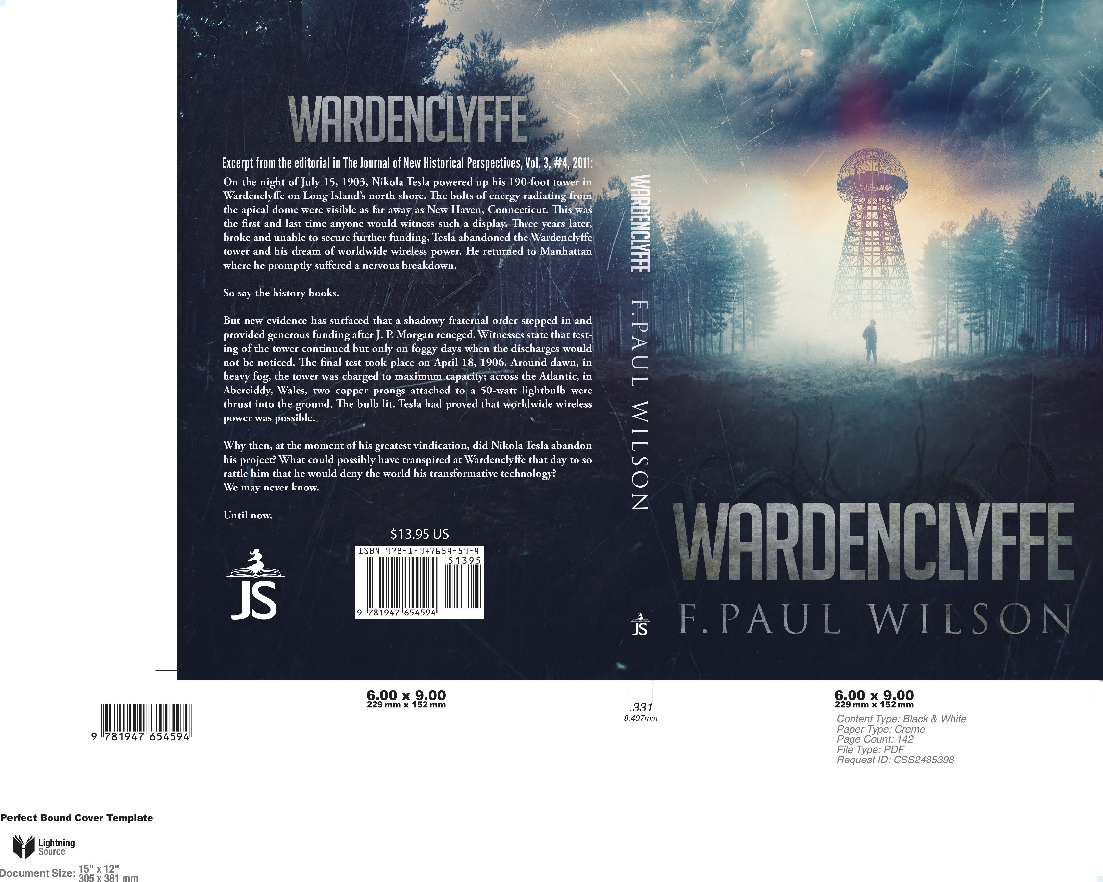 Book Cover Needed for Award-Winning Author's Latest Novella