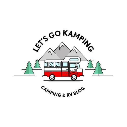 Camping blog logo