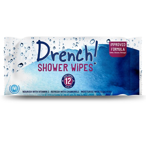 Shower Wipes - Wet Wipes