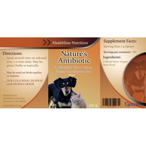 Animal Nutrition Label