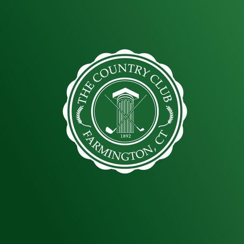 The Country Club logo for apparel.