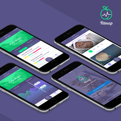 FitMap App | Track your meals