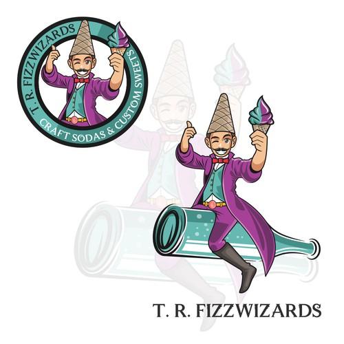 T.R. FIZZWIZARDS LOGO