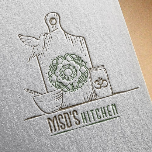 Logo for msd's kitchen