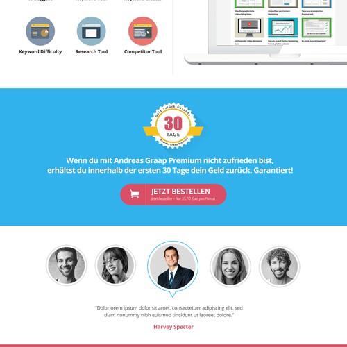 Design for Andreas Graap - Digital Marketing Expert