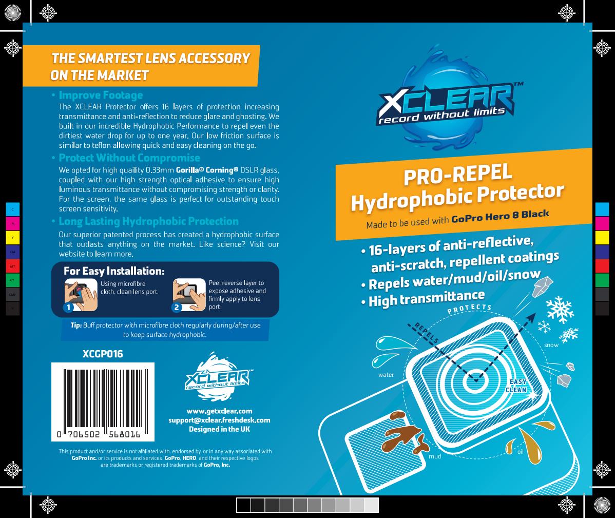 PRO-REPEL GoPro HERO 8 Packaging
