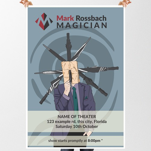 Poster Design for Modern Magician