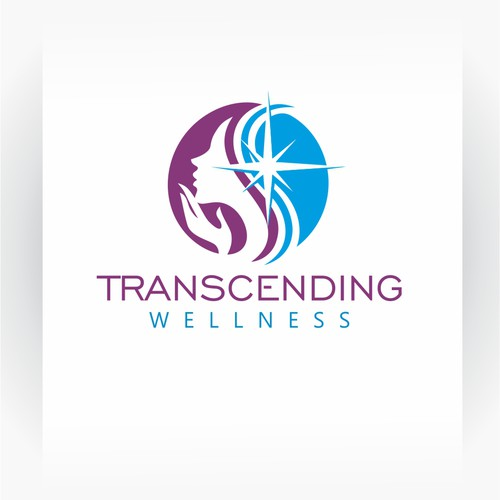 Transcending Wellness logo design.