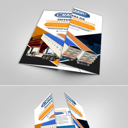Gate Fold Brochure Design