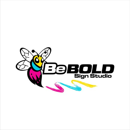 Be BOLD sign studio