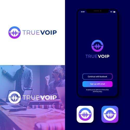 Logo Design for TRUEVOIP