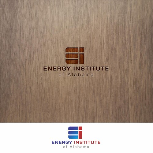 simple and elegant logo for energi institute of alabama.