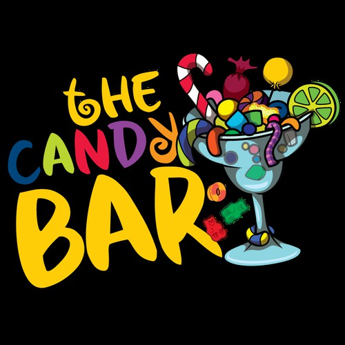 candy bar logo design