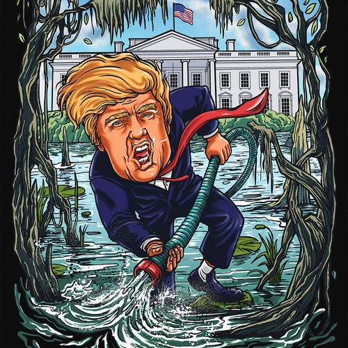 Donald Trump Drain The Swamp