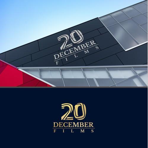 Modern logo for 20 December films ltd