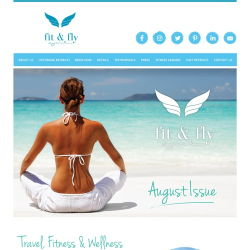 Fit & Fly Newsletter