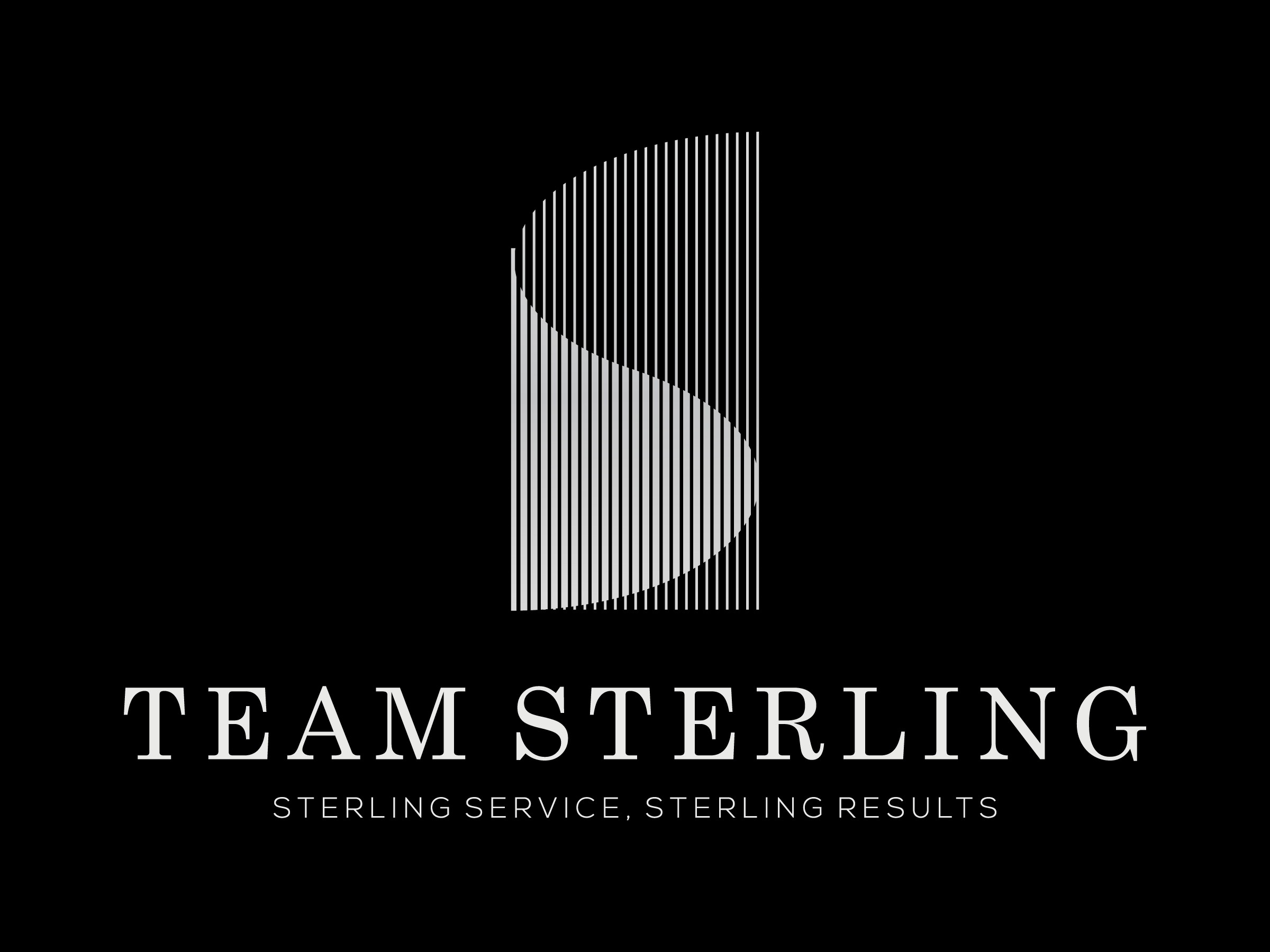 Logo for high-end residential real estate sales team