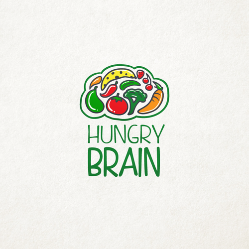 Logo concept for Hungry Brain