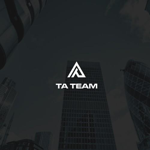 Bold & Simple logo for TA TEAM