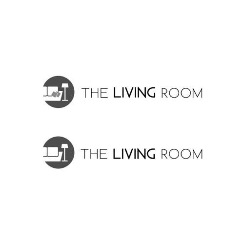 winning logo for 'The Living Room'
