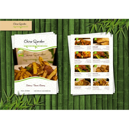 Design for China Garden Restaurant Kuwait!