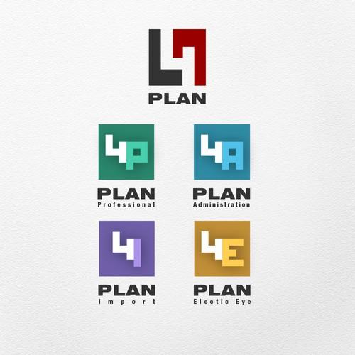 Logo  and desktop  icon  concept