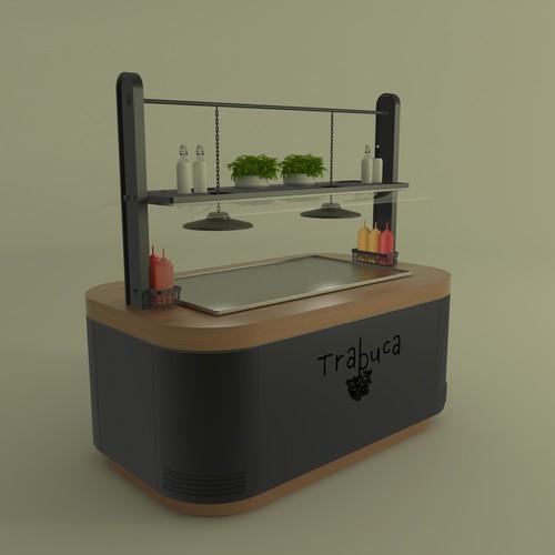 Trabuca Table serve 3d design