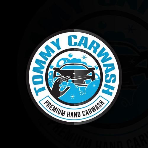 Logo design for Tommy Carwash