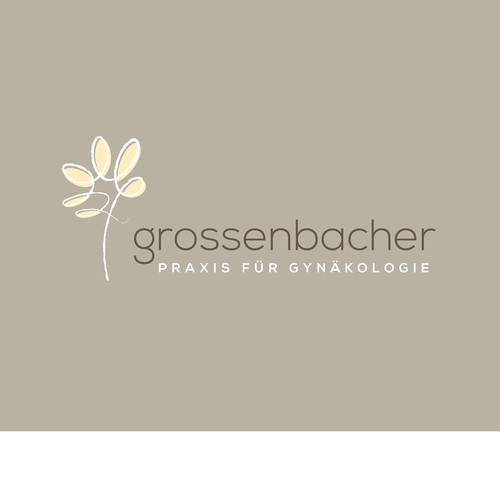 Logo concept for a gynecologist practice