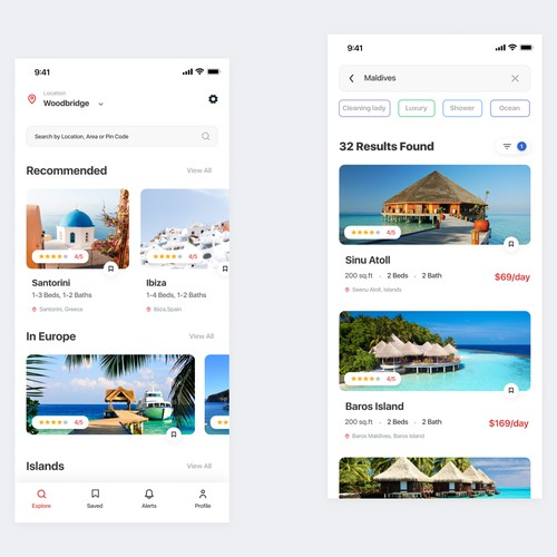 Travel & hotel App