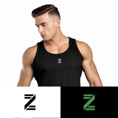 logo concept for sportswear apparel brand